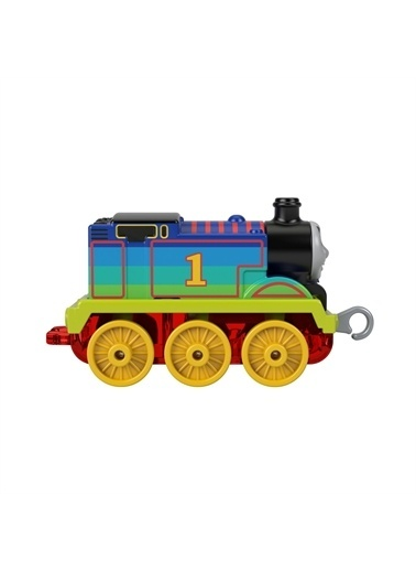 Thomas & Friends Thomas & Friends Trackmaster Sür-Bırak Küçük Tekli Trenler, Lokomotif Tren - Rainbow Thomas Gyv69 Renkli